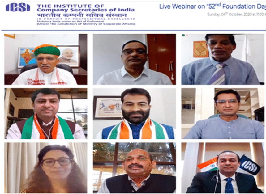 ICSI celebrates 52nd Foundation Day on October 4