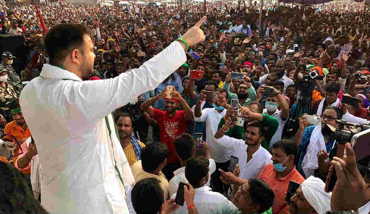 'General Dyer': Tejashwi attacks Nitish govt over Munger incident, demands HC-monitored probe