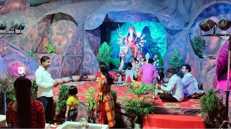 Coronavirus in Bhopal: No carnival-like atmosphere in Navratri celebrations; Pandals set up sans shops, joyrides