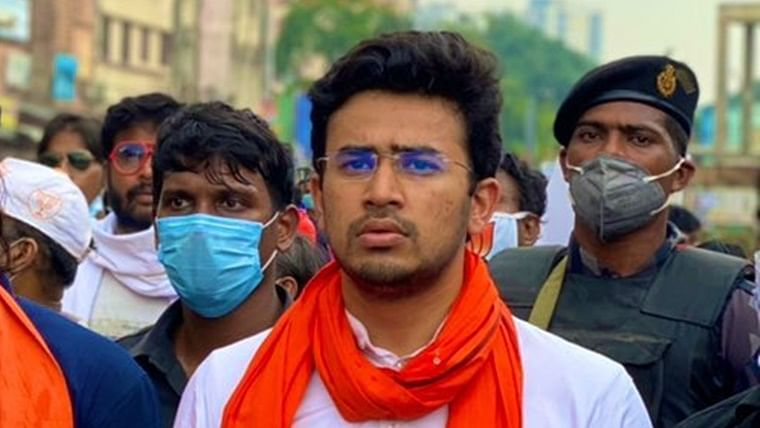 Hyderabad: Case filed against Tejasvi Surya for entering Osmania University without permission