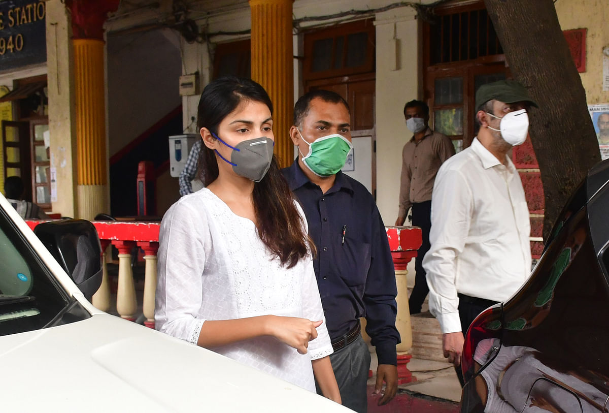 Rhea Chakraborty takes on her neighbour, urges CBI to probe false claims