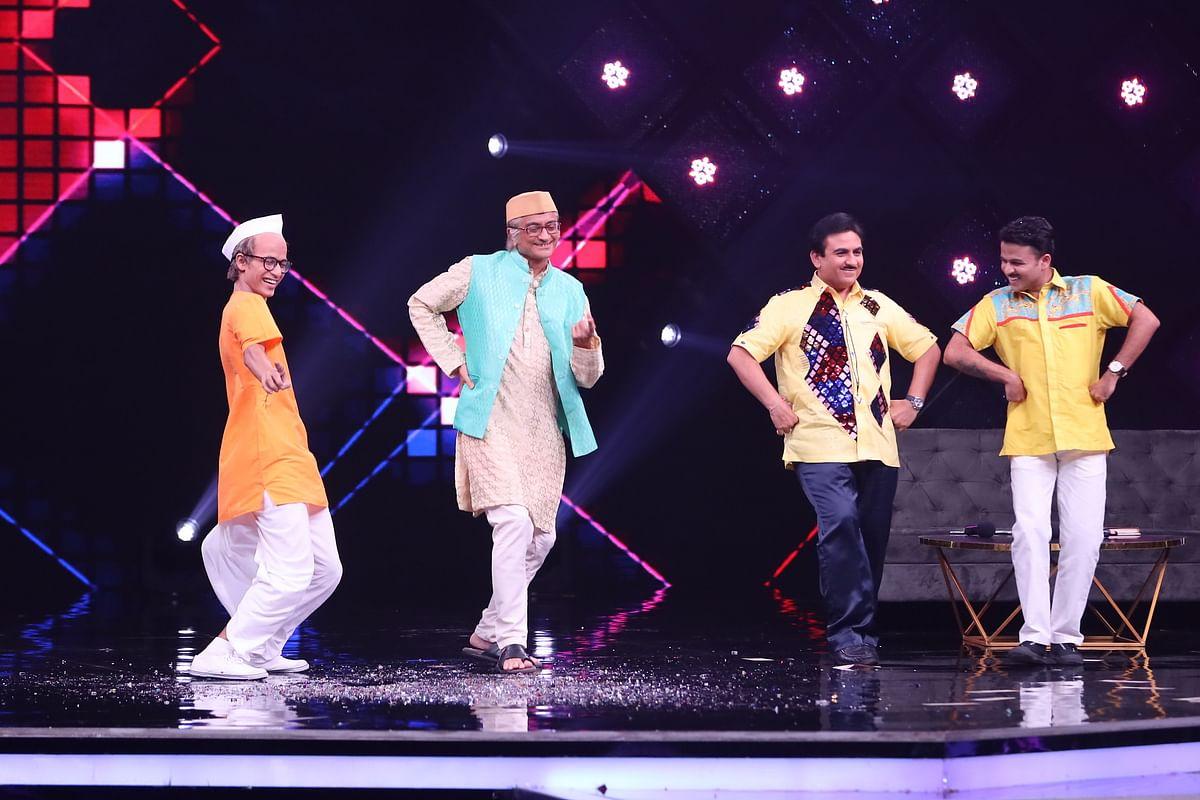 Taarak Mehta's Jethalal grooves with Malaika Arora on India's Best Dancer