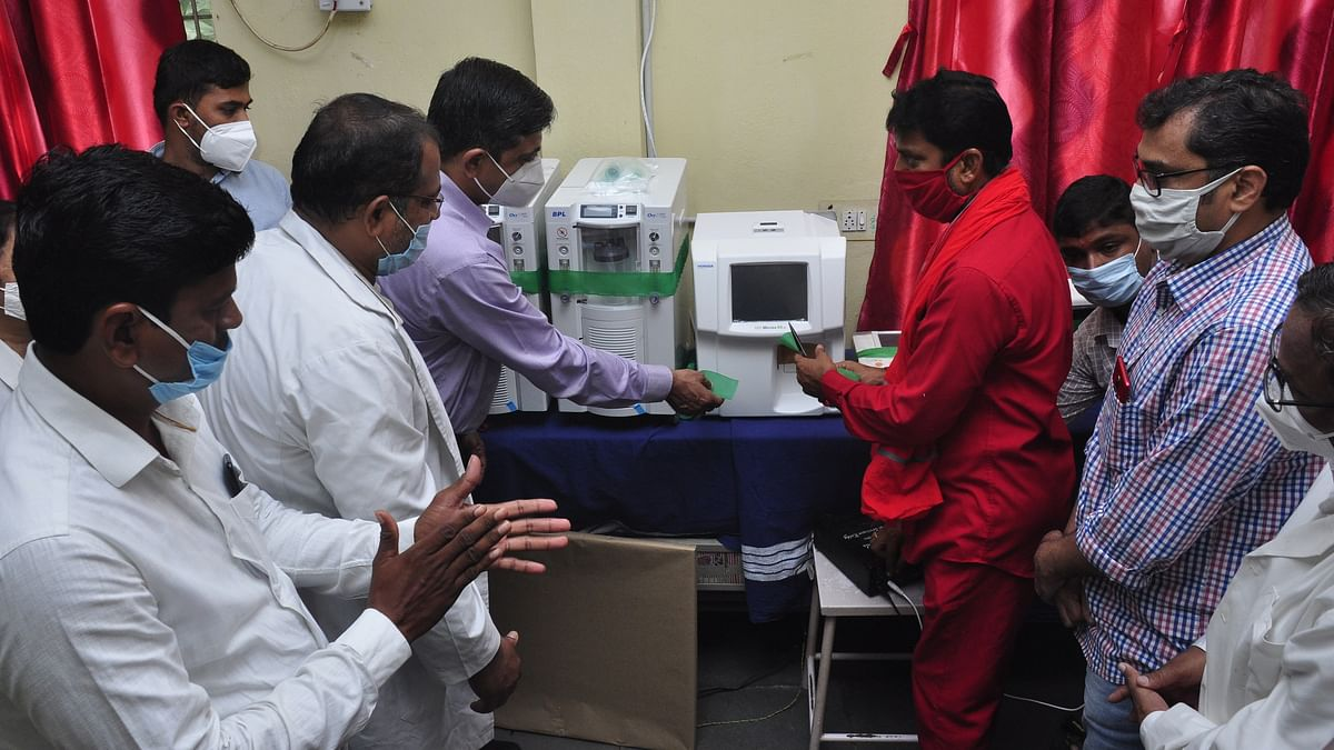 NTPC-Ramagundam hands over medical equipment worth Rs. 71 lakh to Area Hospital