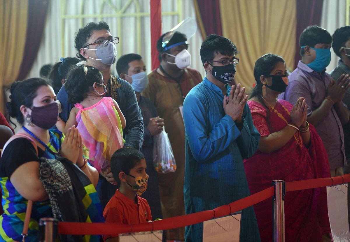 Covid-19 dampens Navratri, Durga Puja celebrations