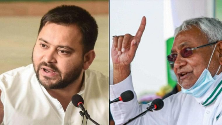 Tejashwi Yadav VS Nitish Kumar: Chief ministerial candidates lash out at each other during poll rallies