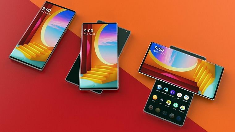 LG to launch new rotating-screen smartphone 'Wing' on Tuesday