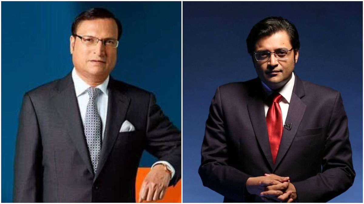 'Call me on your channel': Arnab Goswami challenges Rajat Sharma to face his questions on TRP scam
