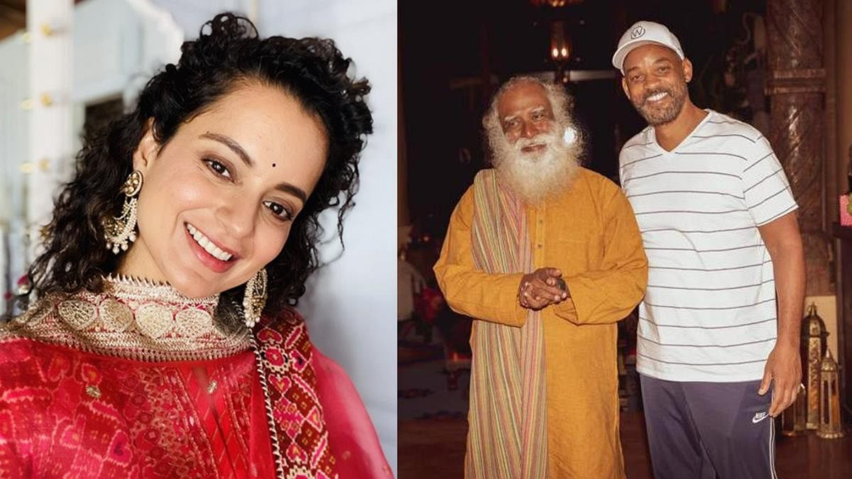 Kangana praises Will Smith meeting Sadhguru; wants Bollywood stars to show the same keenness and curiosity