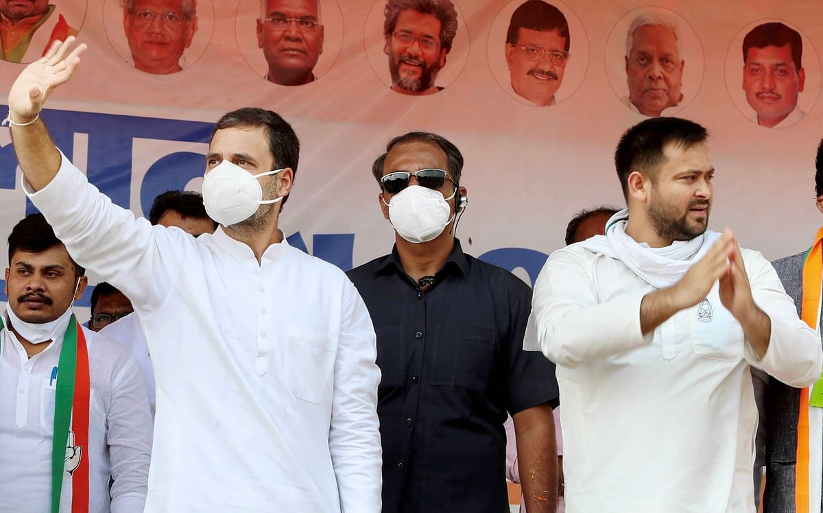 'Lalu Riha, Nitish Vida': Tejashwi vocal about local as PM, Rahul go 'national'