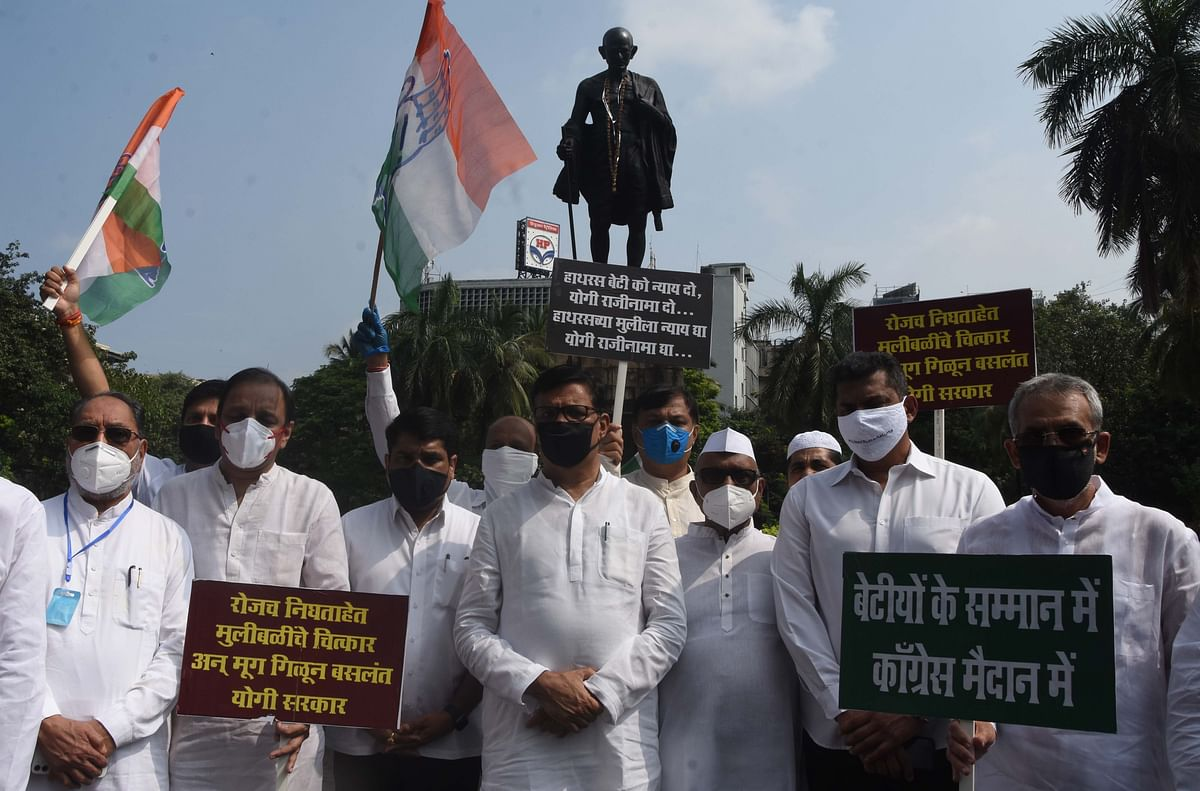 Congress holds state-wide agitation demanding justice for Hathras gangrape victim