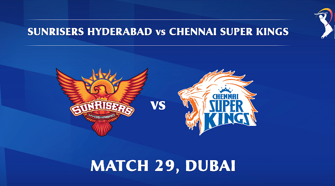 Sunrisers Hyderabad vs Chennai Super Kings LIVE: Score, commentary for the 29th match of Dream11 IPL