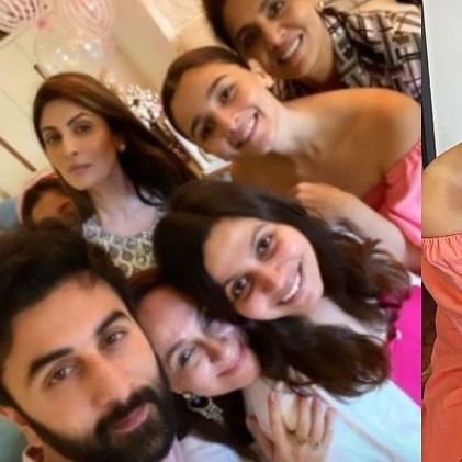 In Pics: Ranbir Kapoor, Neetu and Riddhima attend Alia Bhatt's mother Soni Razdan's birthday bash