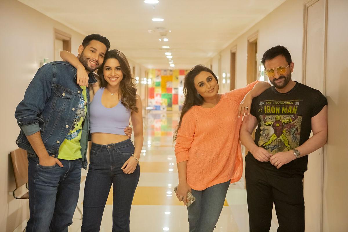 Siddhant, Sharvari wrap up 'Bunty Aur Babli 2' dubbing