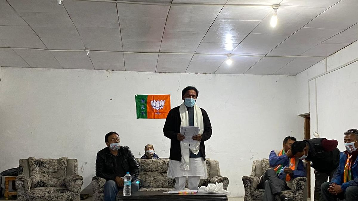 Congress behaved like Ladakh's stepmother for 70 years, says G Kishan Reddy