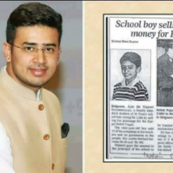 'He sold paintings to raise funds for Kargil victims': BJYM traces Tejasvi Surya's journey as BJP MP takes charge of youth wing