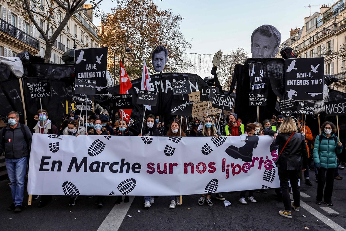 Death of press freedom in France?