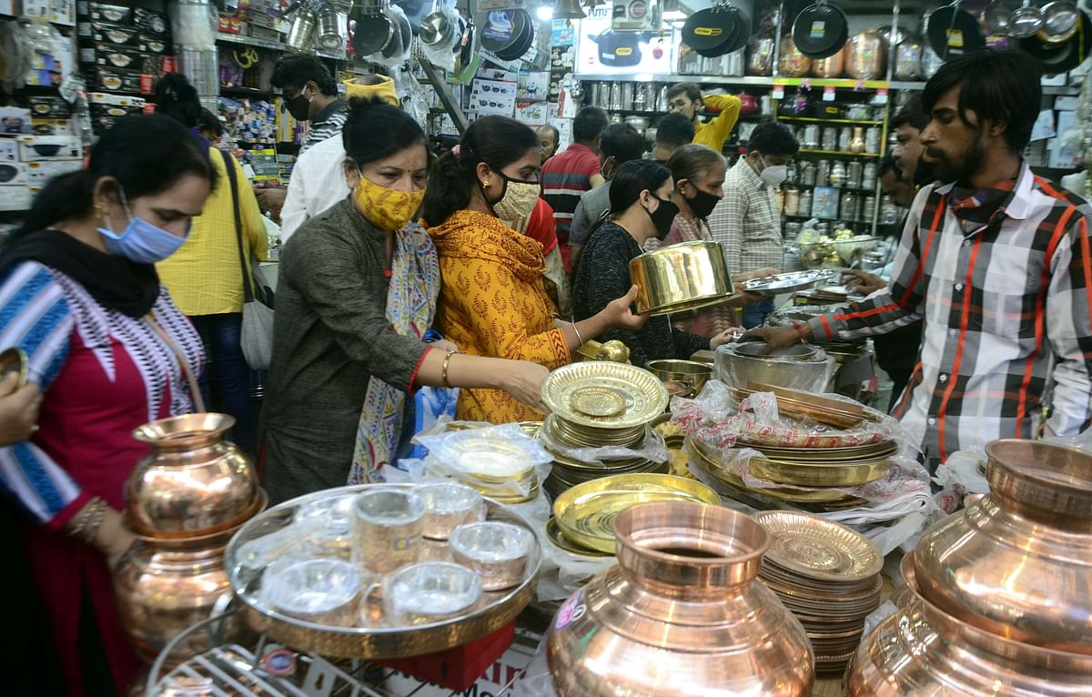 Bhopal: Amidst pandemic, Dhanteras sales surpass Rs 500 crore  mark