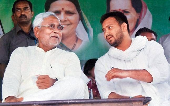 Tejashwi Yadav and Nitish Kumar