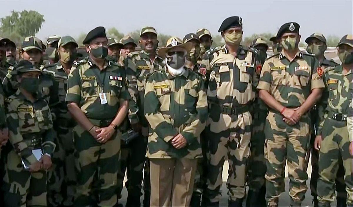In pics: PM Modi's address to jawans in Jaisalmer