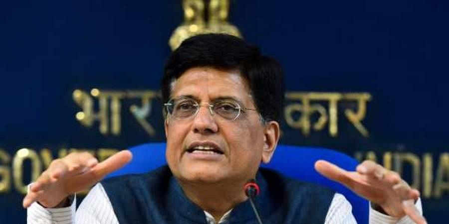 Union minister Piyush Goyal