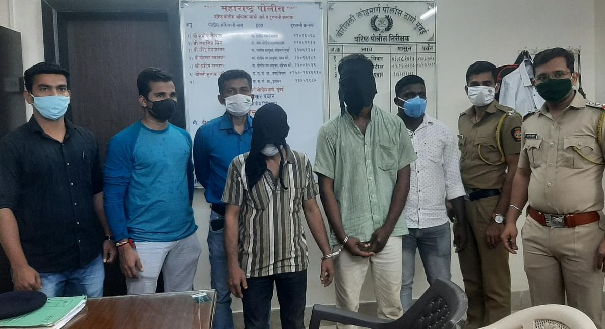 22-year-old woman robbed, molested on Mumbai local train, cops nab two men
