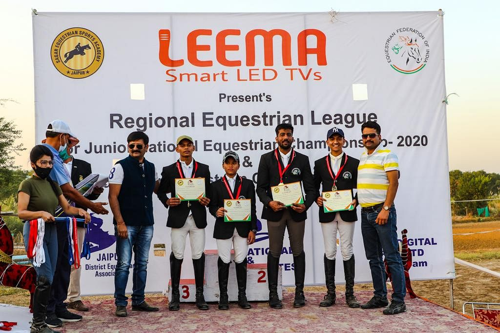 8 MP horse riders bag 13 medals in Jaipur