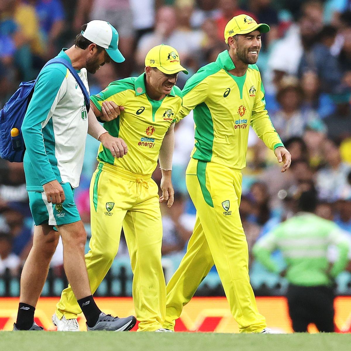 Aus vs Ind 2nd ODI: David Warner hurts groin, to undergo scan