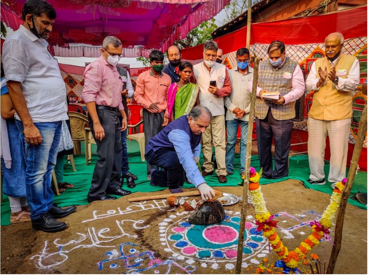 Rotary's angelic act for the Adivasis