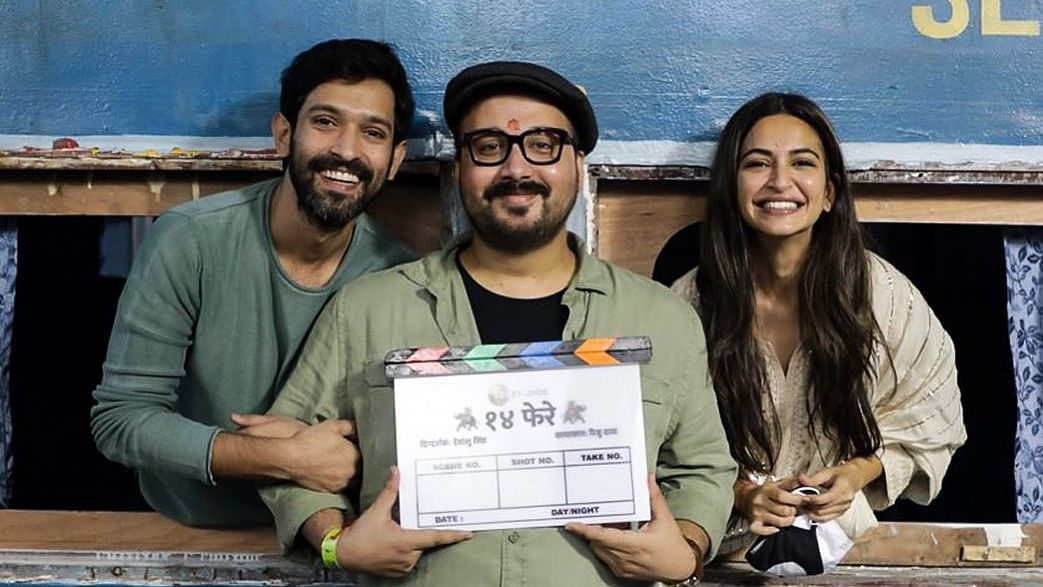Vikrant Massey, Kriti Kharbanda begin shoot for '14 Phere'