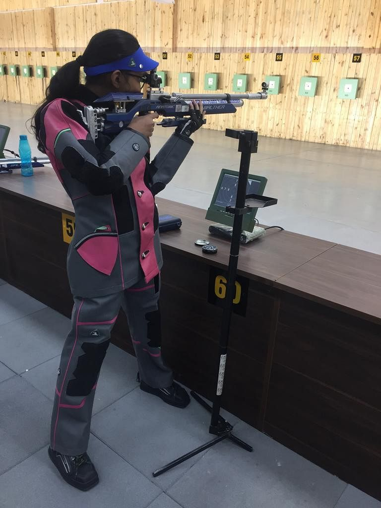 Anshika Gupta, International shooting champion