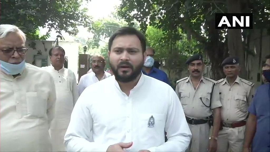 Tejashwi Yadav elected leader of RJD, Congress and Left legislators in Bihar