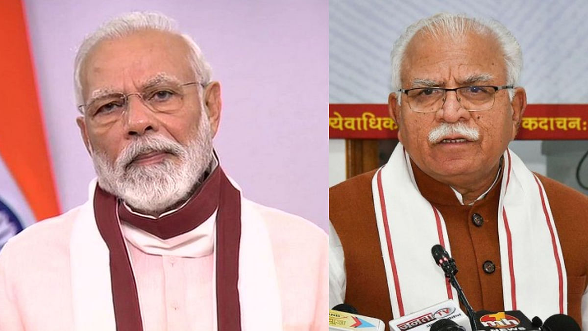 'We already have the figures': PM Modi stops Khattar mid-speech at COVID meet, asks him about plans to tackle pandemic in Haryana