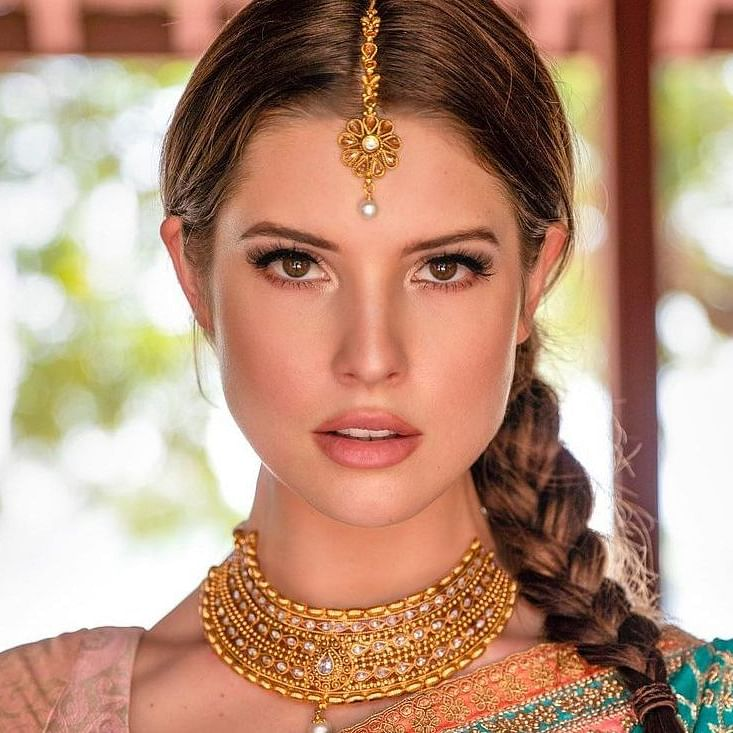 Amanda Cerny's desi avatar in Diwali posts set the internet ablaze