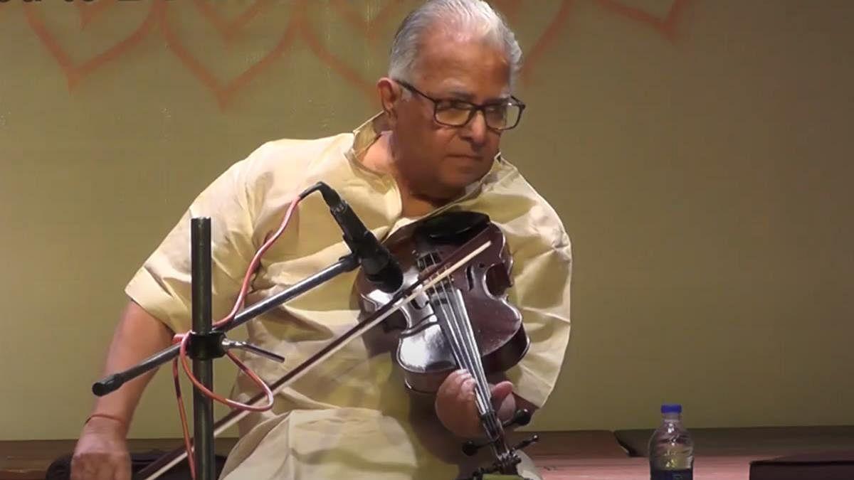 Violinist TN Krishnan dies at 92, PM Modi says 'big void in music world'