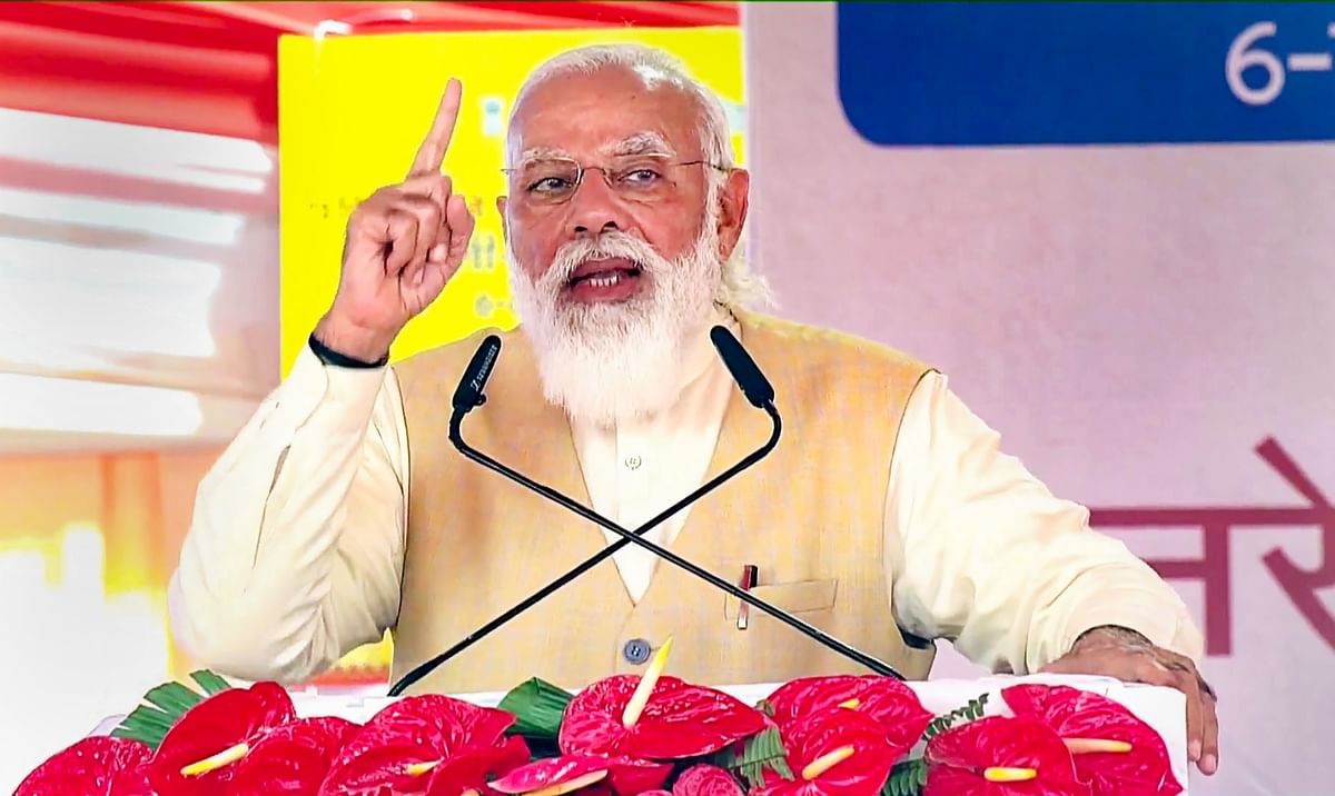 Delhi Chalo March: PM Modi attacks Opposition, says 'they play tricks on farmers'