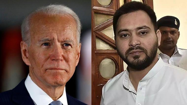 Like Joe Biden beat Trump, Tejashwi Yadav will defeat Nitish Kumar: Shiv Sena's Saamana