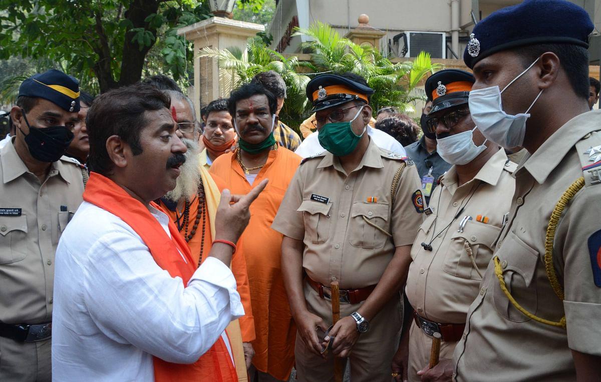 MLA Ram Kadam detained ahead of Jan Aakrosh Yatra