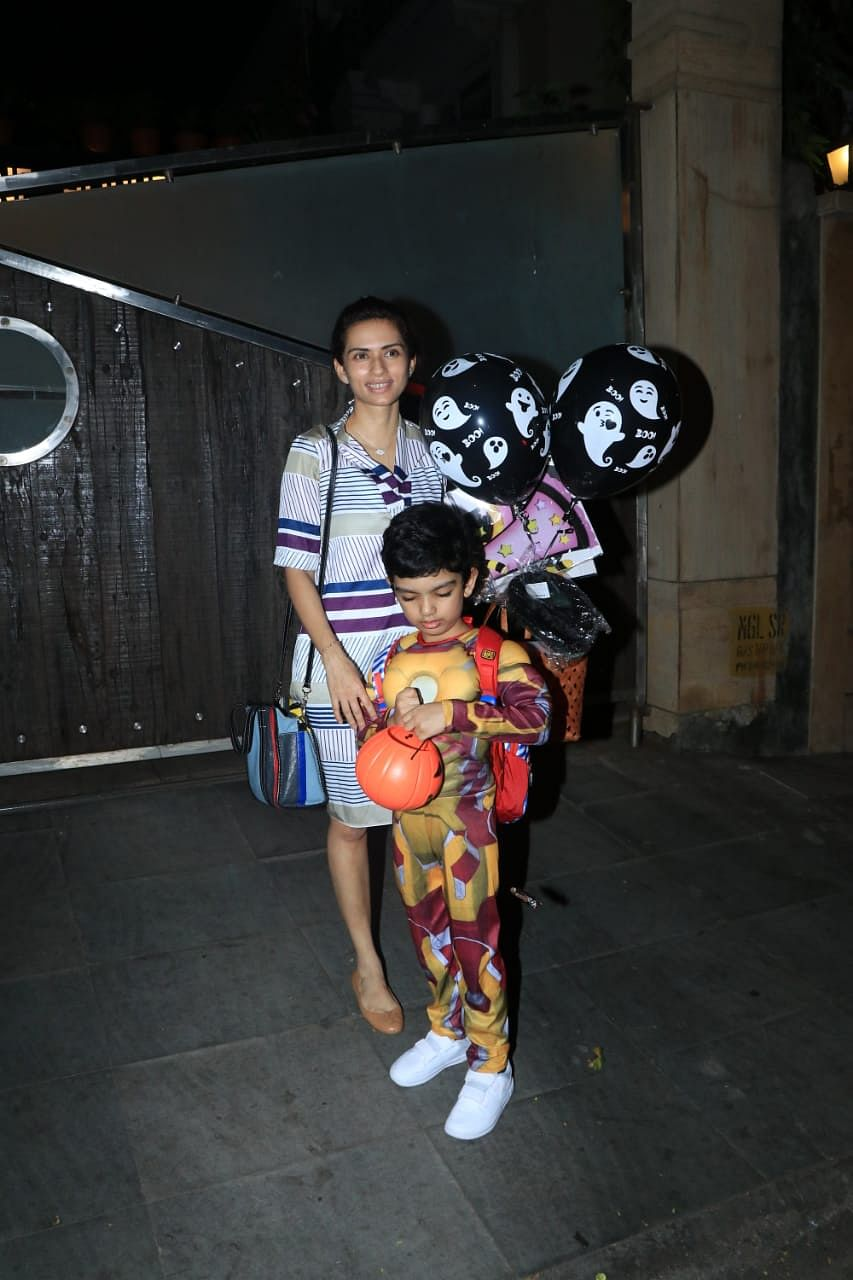 Kareena Kapoor hosts Halloween Party for baby boy Taimur and his friends