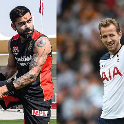Skipper Virat Kohli offers Tottenham striker Harry Kane a place in RCB, here's why