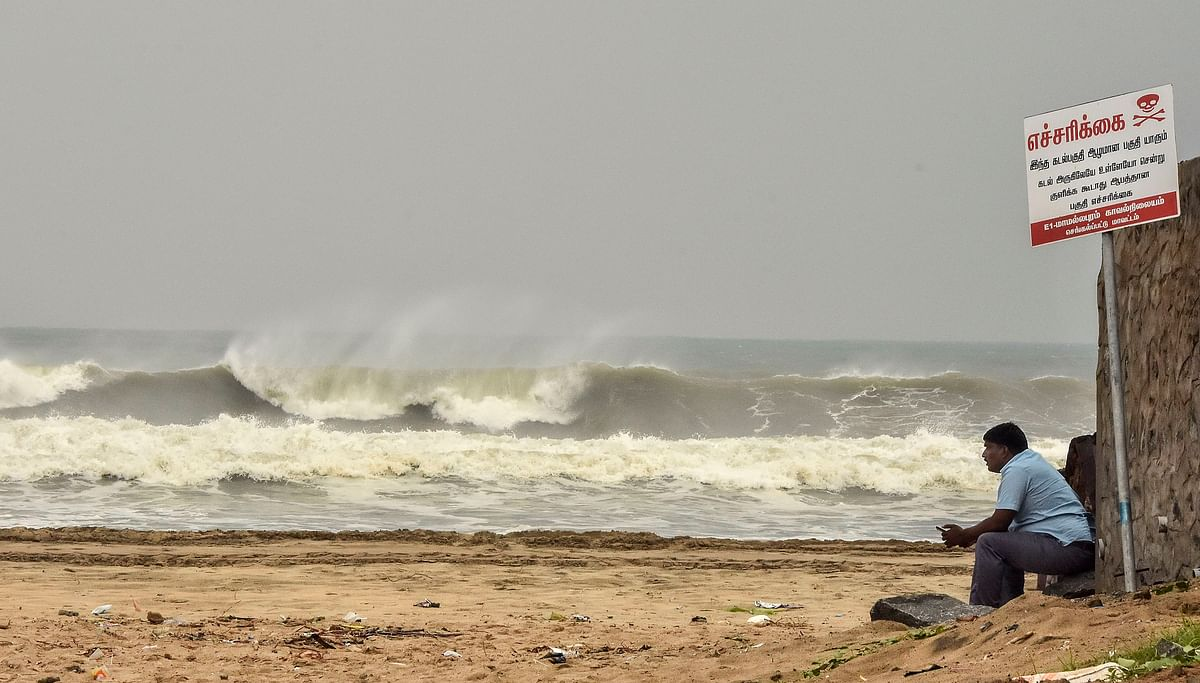 Tamil Nadu govt declares public holiday tomorrow ahead of Cyclone Nivar