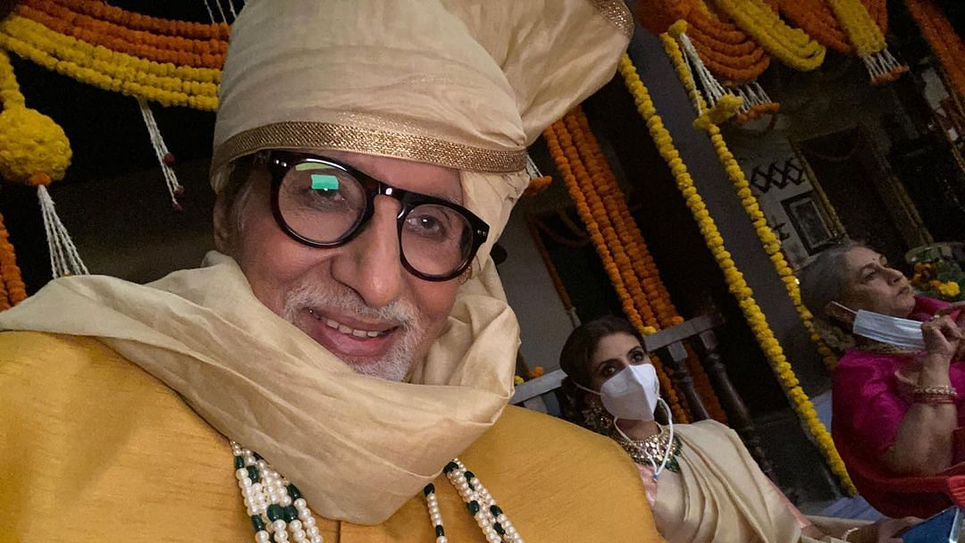 Family at work: Amitabh Bachchan shares glimpse of upcoming project with wife Jaya, daughter Shweta