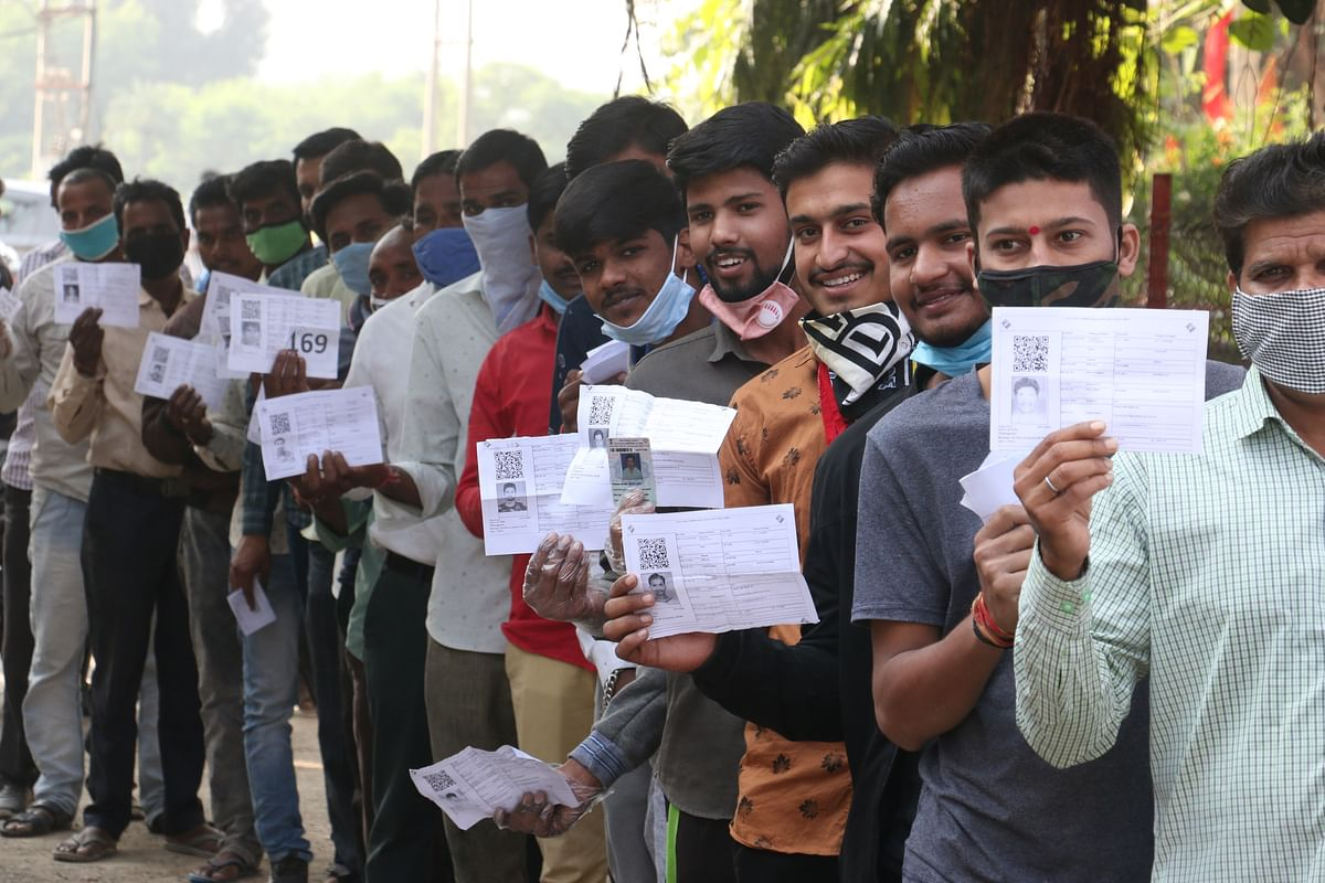MP Bypolls: 78.01% vote in Sanwer, voters overcome fear of Covid