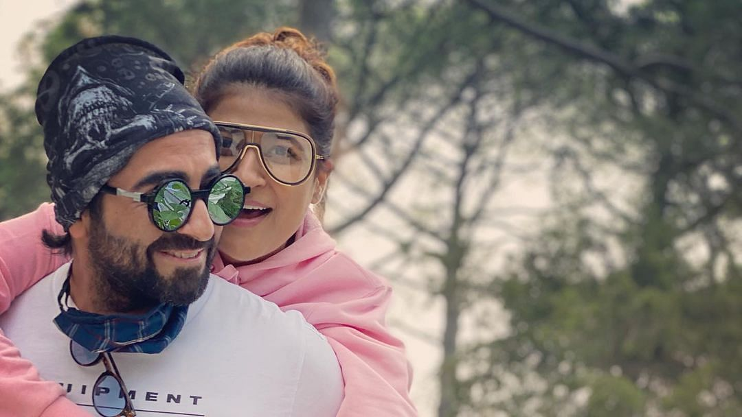 Ayushmann Khurrana celebrates '125 years of togetherness' on wedding anniversary with Tahira