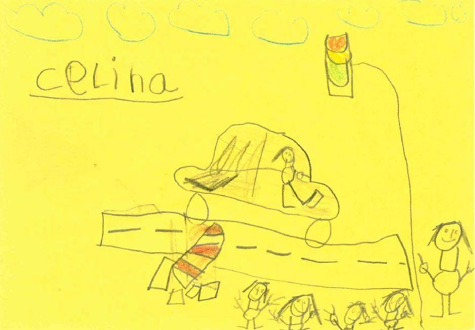 6-year-old witnesses draw sketches to help cops find rash driver in German city
