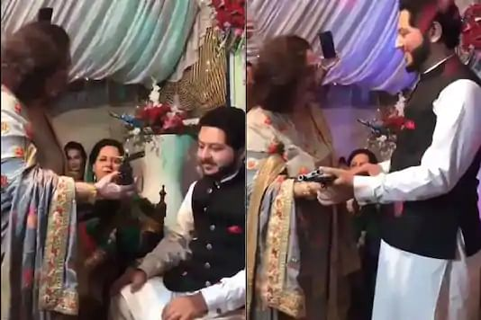 Pakistan groom receives AK-47 rifle as wedding gift; Twitter says 'reason why it is the epicentre of terror'