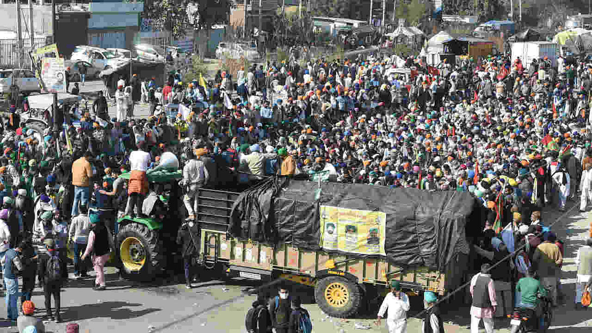 Delhi Chalo March: Farmers get set for Delhi blockade