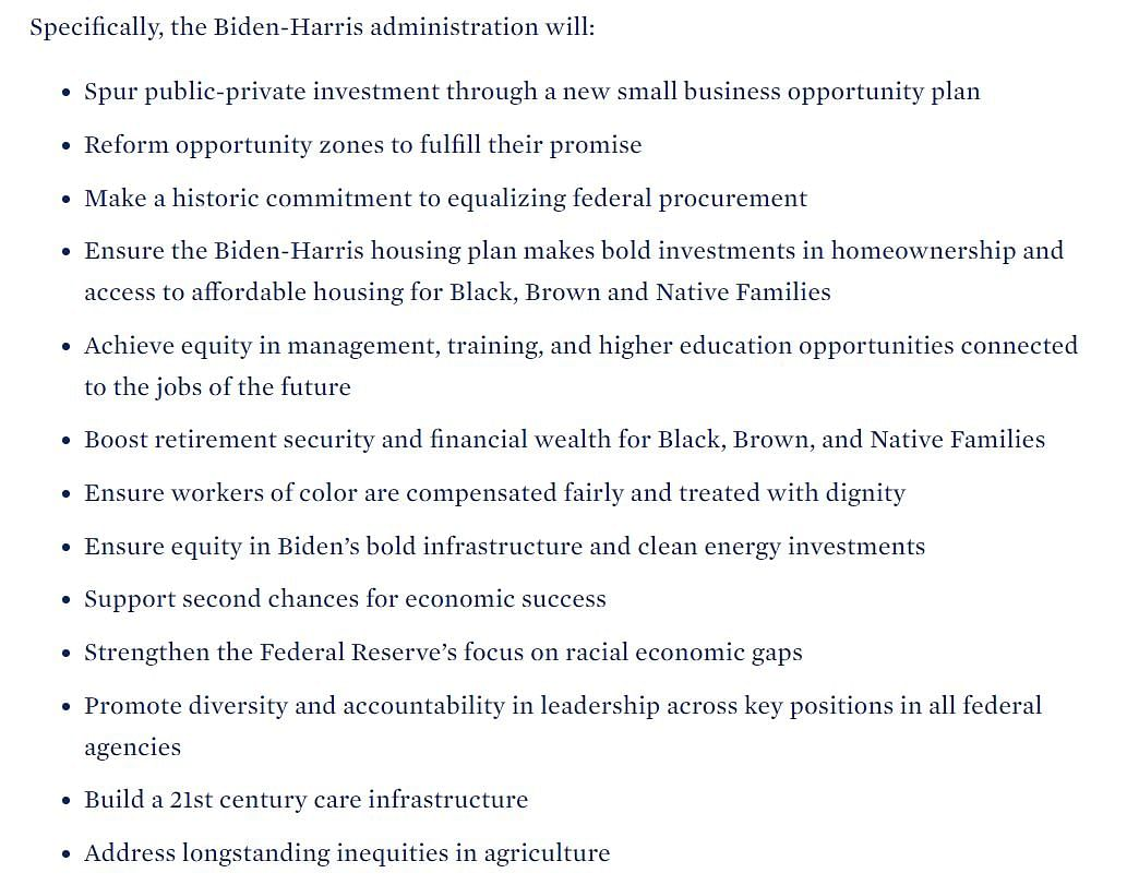 From COVID-19 to climate change and racism - Incoming Biden-Harris administration releases detailed plan of action