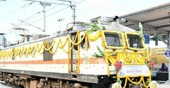 Indore: Kisan Rail to restart today, will make 10 trips from Laxmibai Nagar to Jorhat Town