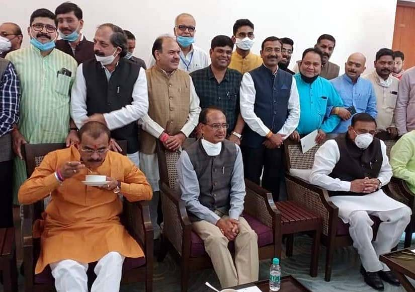 MP Bypolls: BJP in full confidence, CM takes lunch with management panel