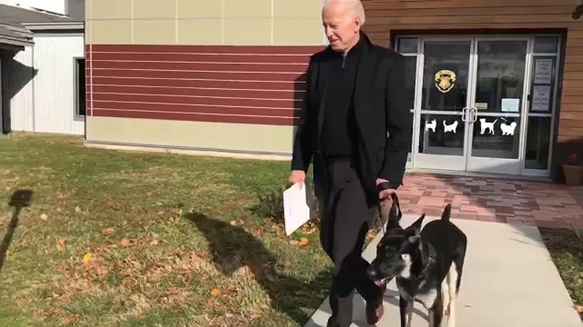 From sleepy Joe to slippery Joe: Biden fractures foot while playing with his dog